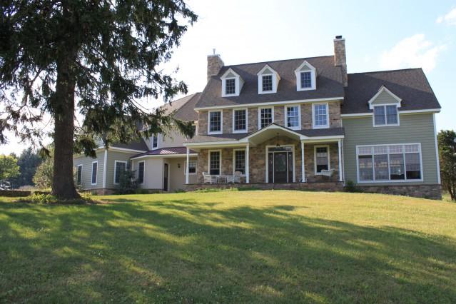 Wonderful country estate close to new york city alloggio in famiglia a milford stati uniti d - Casas en nueva york ...